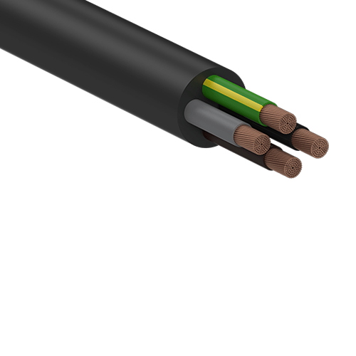 Flexible Rubber Power Cable 0.6/1kV