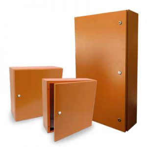 Wall Mount Enclosures - Orange RAL2000