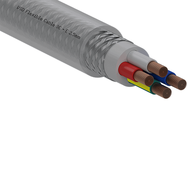 Power Cable Screened